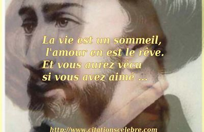 Citation de Alfred de Musset