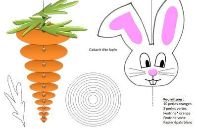 Mobile de lapins