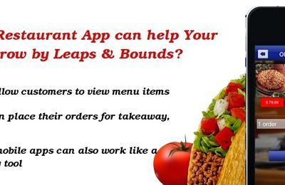 How Can Mobile Apps Help Your Restaurant Business?
