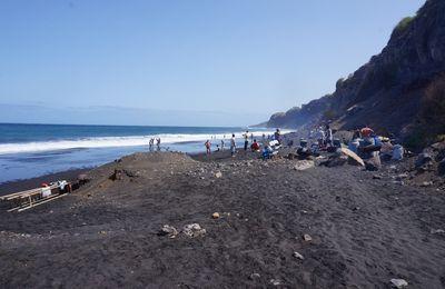 Fogo-la plage de Sao Filipe