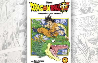 Le Tome 1 de Dragon Ball Super est N°1 des ventes en France