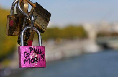 Les «cadenas d'amour» de Paris
