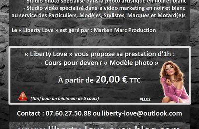 LIBERTY LOVE (#LibertyLove #LL) (#TopPro2016) : Prenez des cours pour être Modèle photo