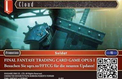 Cloud A-001 gagnable en event pour l'anniversaire du jeu