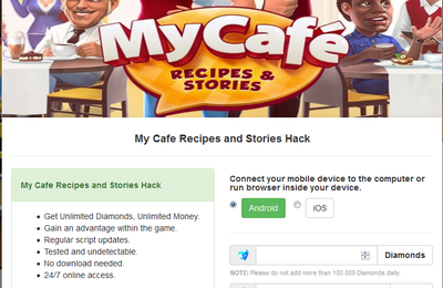 My Cafe: Recipes and Stories Hack