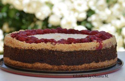 German Poppy Seed & Quark Cake