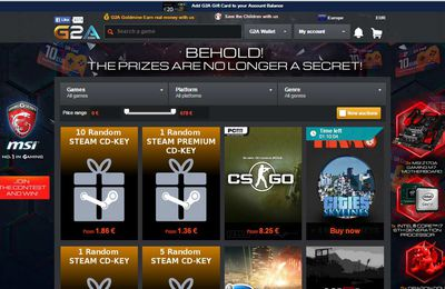 About G2A Digital Marketplace