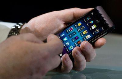 The Blackberry Vibrant Smart device