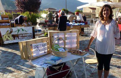 Venez nous rencontrer sur le marché de Roquebillière !