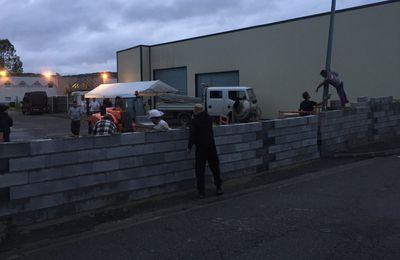 Un mur construit dans les Hautes-Pyrénées pour empêcher la venue des migrants
