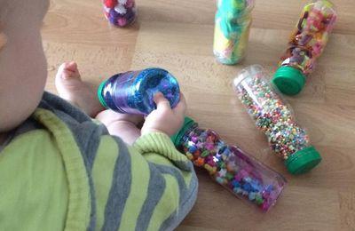 Faire des bouteilles sensorielles