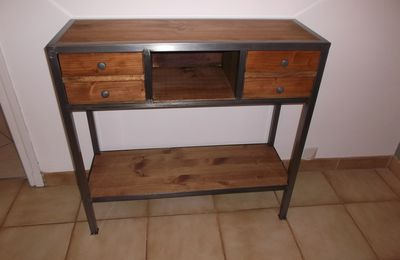 CONSOLE INDUSTRIELLLE