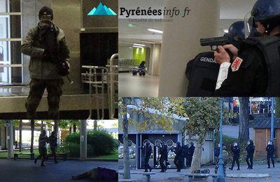 Exercice d'attentats terroristes au Sanctuaire de Lourdes / Pyrénées Infos