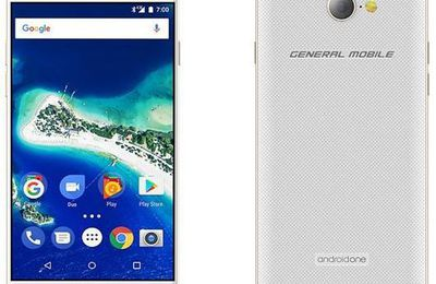General Mobile GM6, Android One Terbaru 2017 Dirilis
