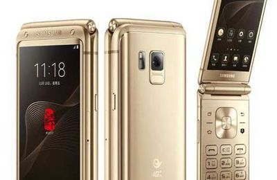 Smartphone Mewah Samsung W2017 Segera Sambangi Korea