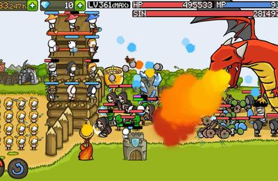 Mobile tower defense game - Grow Castle