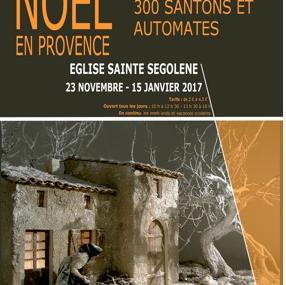 """Metz """"NOEL EN PROVENCE et son VILLAGE de 300 SANTONS ET AUTOMATES"""" Du 23 Novembre au 15 Janvier"""