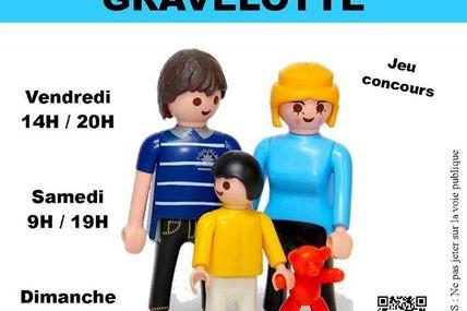 Gravelotte exposition Playmobil les 21, 22 et 23 avril