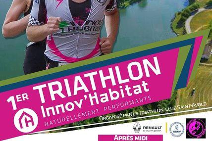 Morhange 1er Triathlon innov'habitat le 23 avril