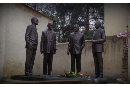 60ème anniversaire des Traités de Rome à la Maison Robert Schuman de Scy- Chazelle