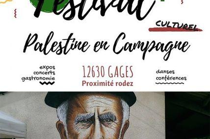 Festival Palestine en campagne  à Gages près de Rodez