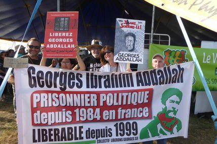 Georges Ibrahim Abdallah  Aux 30 ans de la confédération paysanne.
