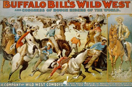 L'incroyable troupe de Buffalo Bill à Moulins en 1905