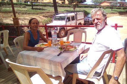 Nouvel Ami à Ambatolampy : Jo de la Pineta le nouveau propriétaire de l'Hotel / Restaurant