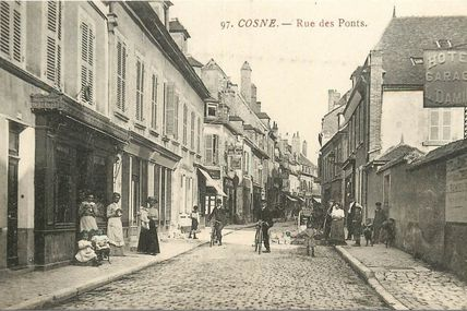Cosne-sur-Loire - Nièvre - Dépt 58.