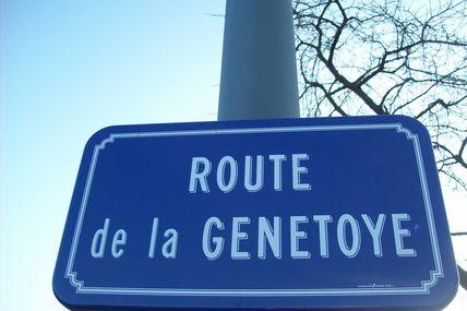 Quartier Saint-Andoche : Route de la Genetoye