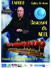 Concert de Noël avec les Chanteurs Pyrénéens et Charles Ferré