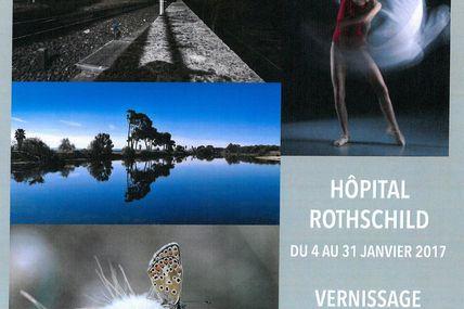Le club photo des cheminots de Paris Austerlitz expose à l'Hôpital Rothschild