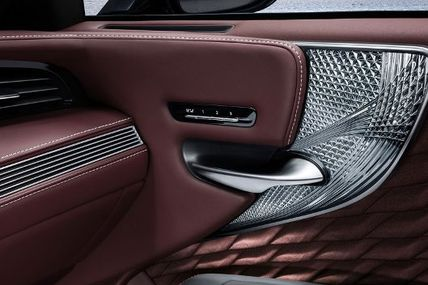 The Lexus Group Enthusiast - More Details on the Lexus LS Glass & Origami Silk Interior Trim