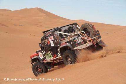 Etape 4 du M'hamid Express 2017, On a roulé sur les dunes