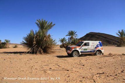 LES COLS, 4è étape du Morocco Sand Express 2017