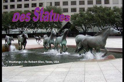 Des statues