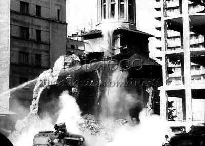 La 40 ani de la demolarea Bisericii Enei