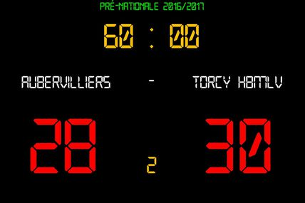Aubervilliers vs THBMLV 2 (Pré-Nationale) 03.12.2016