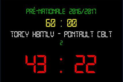 THBMLV 2 vs Pontault-Combault (Pré-Nationale) 17.12.2016