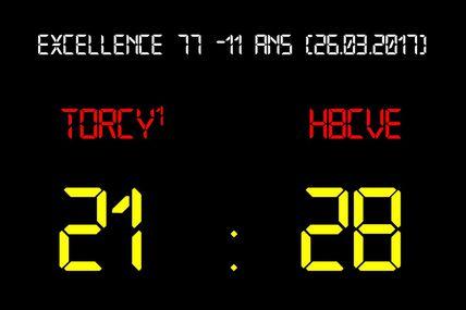 THBMLV1 vs HBCVE Serris (Excellence 77 -11 Ans) 26.03.2017