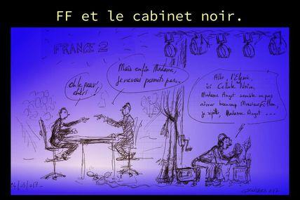 Le journal de la campagne; FF versus Christine Angot.