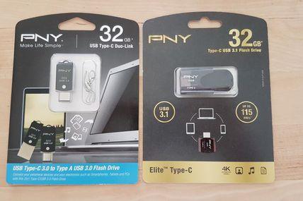 PNY propose des produits de stockage USB type-C