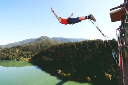Bungee Jumping: Fell the Fear.!!