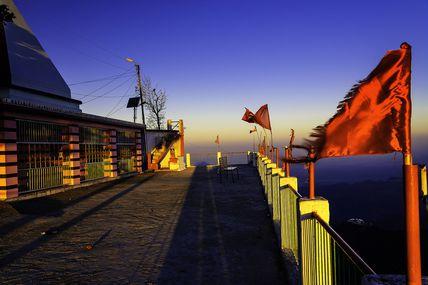 Kunjapuri Devi Temple in Rishikesh.