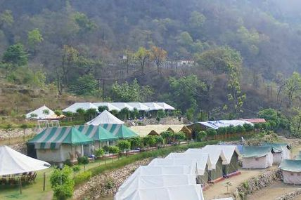 Forest Camping in Rishikesh