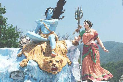 Famous Statue at Triveni Ghat in Rishikesh