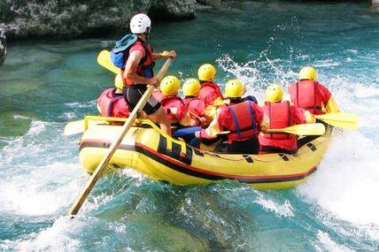 Rafting: Popular Adventure Sports in Rishikesh