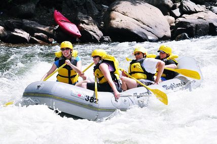 Wet N Wild Rafting in Rishikesh