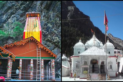 Today opening of the Yamunotri and Gangotri Kapat Ceremony at 11:30 am