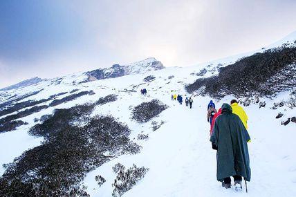 Trek to Chandrashila from Chopta